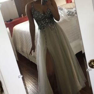 GB Beaded/sequined Prom/Homecoming Gown